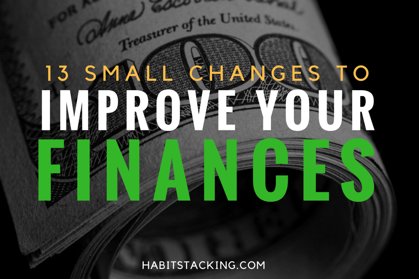 Habit Stacking Your Personal Finances